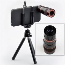 Camera 8X zoom lens