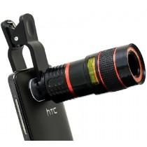 Universele 8X zoom lens